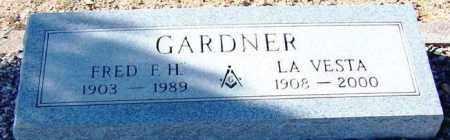 GARDNER, LA VESTA - Maricopa County, Arizona | LA VESTA GARDNER - Arizona Gravestone Photos