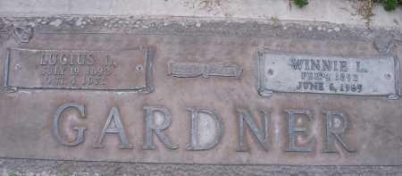 LEBARON GARDNER, WINNIE - Maricopa County, Arizona | WINNIE LEBARON GARDNER - Arizona Gravestone Photos