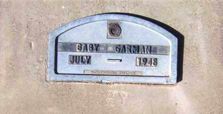 GARMAN, BABY GIRL - Maricopa County, Arizona | BABY GIRL GARMAN - Arizona Gravestone Photos