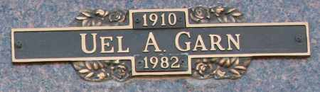 GARN, UEL A - Maricopa County, Arizona | UEL A GARN - Arizona Gravestone Photos