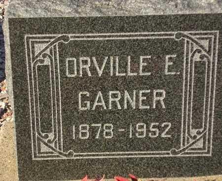 GARNER, ORVILLE E. - Maricopa County, Arizona | ORVILLE E. GARNER - Arizona Gravestone Photos