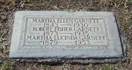 GARNETT, MARTHA LUCINDA - Maricopa County, Arizona | MARTHA LUCINDA GARNETT - Arizona Gravestone Photos