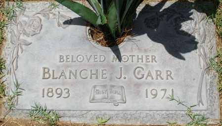 GARR, BLANCHE J. - Maricopa County, Arizona | BLANCHE J. GARR - Arizona Gravestone Photos