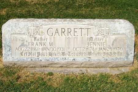 GARRETT, JENNIE - Maricopa County, Arizona | JENNIE GARRETT - Arizona Gravestone Photos