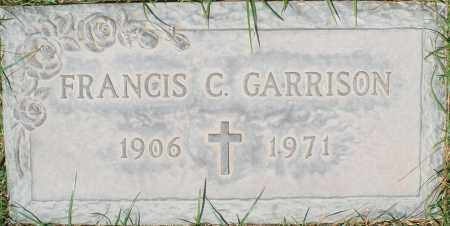 GARRISON, FRANCIS C. - Maricopa County, Arizona | FRANCIS C. GARRISON - Arizona Gravestone Photos