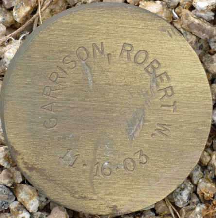 GARRISON, ROBERT W. - Maricopa County, Arizona   ROBERT W. GARRISON - Arizona Gravestone Photos