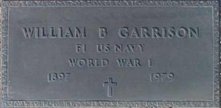 GARRISON, WILLIAM B. - Maricopa County, Arizona | WILLIAM B. GARRISON - Arizona Gravestone Photos