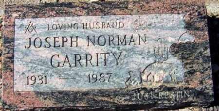 GARRITY, JOSEPH NORMAN (NORM) - Maricopa County, Arizona   JOSEPH NORMAN (NORM) GARRITY - Arizona Gravestone Photos