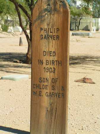 GARVER, PHILIP - Maricopa County, Arizona | PHILIP GARVER - Arizona Gravestone Photos