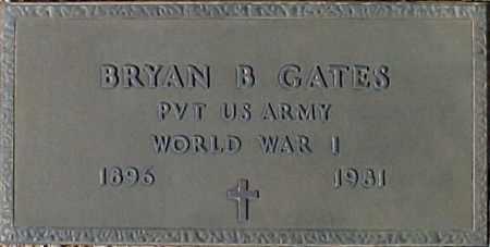 GATES, BRYAN B - Maricopa County, Arizona   BRYAN B GATES - Arizona Gravestone Photos