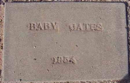 GATES, BABY GIRL - Maricopa County, Arizona | BABY GIRL GATES - Arizona Gravestone Photos