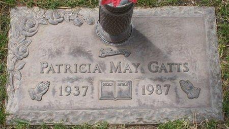 GATTS, PATRICIA MAY - Maricopa County, Arizona   PATRICIA MAY GATTS - Arizona Gravestone Photos