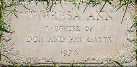 GATTS, THERESA ANN - Maricopa County, Arizona | THERESA ANN GATTS - Arizona Gravestone Photos