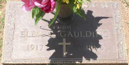 GAULDING, ELDA V. - Maricopa County, Arizona | ELDA V. GAULDING - Arizona Gravestone Photos