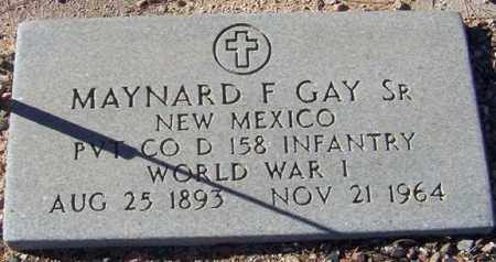 GAY, MAYNARD F, SR - Maricopa County, Arizona | MAYNARD F, SR GAY - Arizona Gravestone Photos