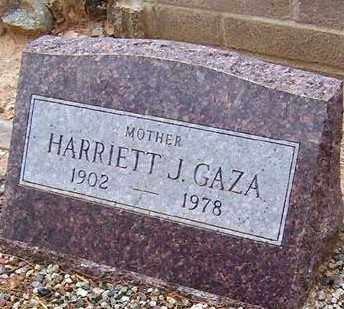 GAZA, HARRIETT J. - Maricopa County, Arizona | HARRIETT J. GAZA - Arizona Gravestone Photos