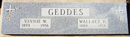 GEDDES, VINNIE W. - Maricopa County, Arizona | VINNIE W. GEDDES - Arizona Gravestone Photos