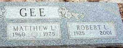 GEE, ROBERT L. - Maricopa County, Arizona | ROBERT L. GEE - Arizona Gravestone Photos