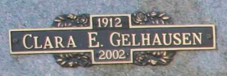 GELHAUSEN, CLARA E - Maricopa County, Arizona | CLARA E GELHAUSEN - Arizona Gravestone Photos