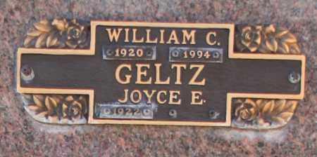 GELTZ, WILLIAM C - Maricopa County, Arizona | WILLIAM C GELTZ - Arizona Gravestone Photos