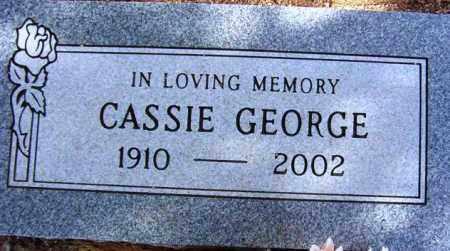 WALKER GEORGE, CASSIE - Maricopa County, Arizona | CASSIE WALKER GEORGE - Arizona Gravestone Photos