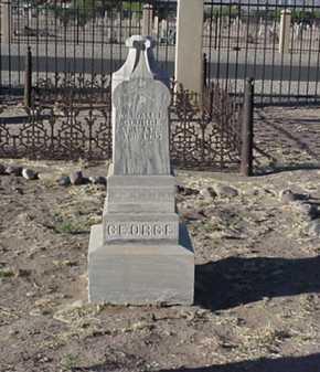 GEORGE, WILLIAM L., CAPT. - Maricopa County, Arizona | WILLIAM L., CAPT. GEORGE - Arizona Gravestone Photos
