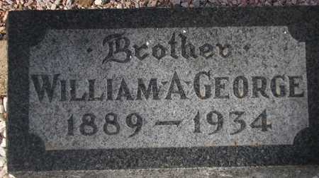 GEORGE, WILLIAM A. - Maricopa County, Arizona | WILLIAM A. GEORGE - Arizona Gravestone Photos