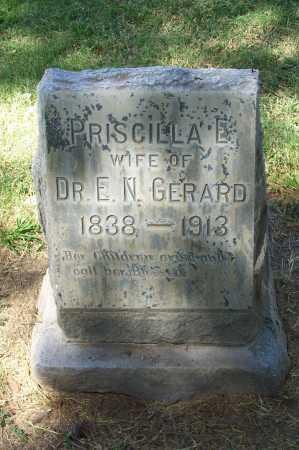 GERARD, PRISCILLA E. - Maricopa County, Arizona | PRISCILLA E. GERARD - Arizona Gravestone Photos