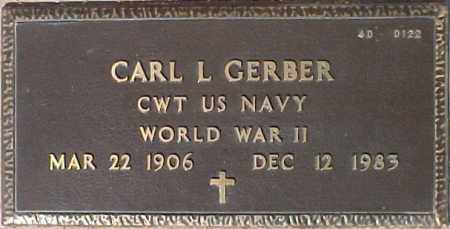 GERBER, CARL L. - Maricopa County, Arizona | CARL L. GERBER - Arizona Gravestone Photos