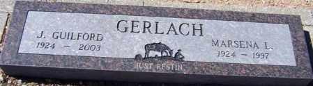 GERLACH, J. GUILFORD (GUIL) - Maricopa County, Arizona | J. GUILFORD (GUIL) GERLACH - Arizona Gravestone Photos