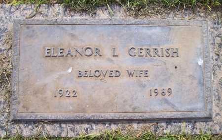 GERRISH, ELEANOR L. - Maricopa County, Arizona   ELEANOR L. GERRISH - Arizona Gravestone Photos