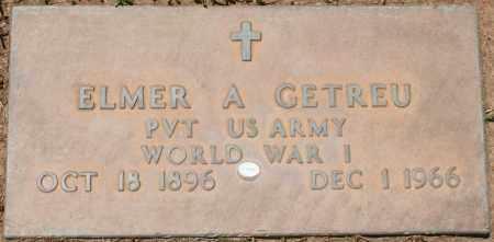 GETREU, ELMER A. - Maricopa County, Arizona   ELMER A. GETREU - Arizona Gravestone Photos