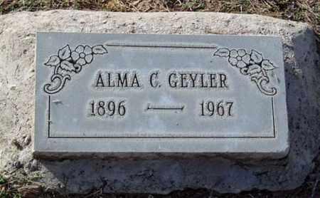 GEYLER, ALMA C. - Maricopa County, Arizona | ALMA C. GEYLER - Arizona Gravestone Photos