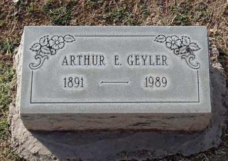 GEYLER, ARTHUR E. - Maricopa County, Arizona | ARTHUR E. GEYLER - Arizona Gravestone Photos