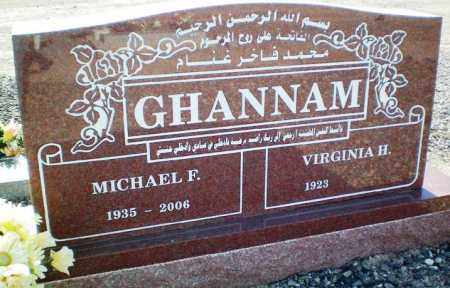 GHANNAM, MICHAEL F. - Maricopa County, Arizona | MICHAEL F. GHANNAM - Arizona Gravestone Photos