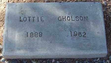 GHOLSON, LOTTIE - Maricopa County, Arizona | LOTTIE GHOLSON - Arizona Gravestone Photos