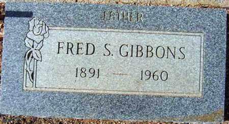 GIBBONS, FRED S. - Maricopa County, Arizona | FRED S. GIBBONS - Arizona Gravestone Photos