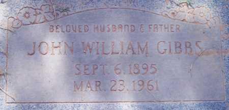 GIBBS, JOHN WILLIAM - Maricopa County, Arizona | JOHN WILLIAM GIBBS - Arizona Gravestone Photos