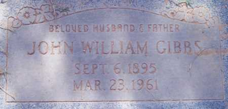 GIBBS, JOHN WILLIAM - Maricopa County, Arizona | JOHN WILLIAM GIBBS - Arizona Gravestone Photos