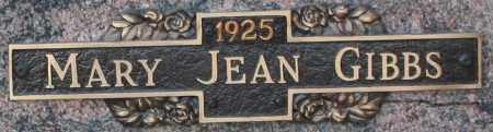 GIBBS, MARY JEAN - Maricopa County, Arizona   MARY JEAN GIBBS - Arizona Gravestone Photos