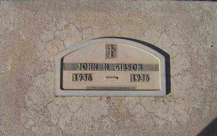GIBSON, JOHN ALLEN - Maricopa County, Arizona | JOHN ALLEN GIBSON - Arizona Gravestone Photos