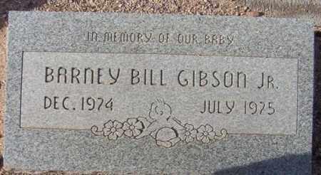 GIBSON, BARNEY BILL, JR - Maricopa County, Arizona   BARNEY BILL, JR GIBSON - Arizona Gravestone Photos