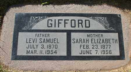 GIFFORD, LEVI SAMUEL - Maricopa County, Arizona | LEVI SAMUEL GIFFORD - Arizona Gravestone Photos