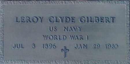 GILBERT, LE ROY - Maricopa County, Arizona | LE ROY GILBERT - Arizona Gravestone Photos