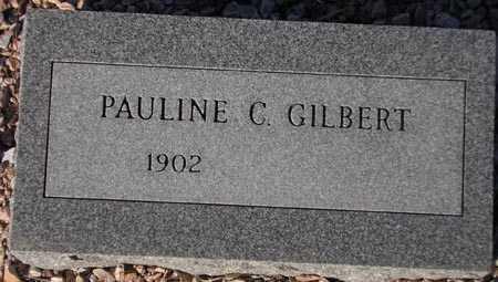 GILBERT, PAULINE C. - Maricopa County, Arizona | PAULINE C. GILBERT - Arizona Gravestone Photos