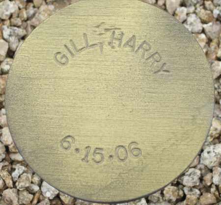 GILL, HARRY - Maricopa County, Arizona | HARRY GILL - Arizona Gravestone Photos