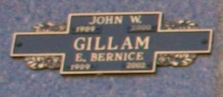 GILLAM, JOHN W - Maricopa County, Arizona | JOHN W GILLAM - Arizona Gravestone Photos