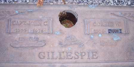 GILLESPIE, CORRIE W. - Maricopa County, Arizona | CORRIE W. GILLESPIE - Arizona Gravestone Photos