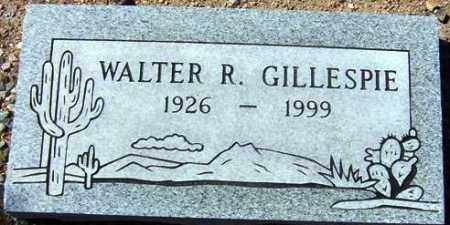 GILLESPIE, WALTER R. - Maricopa County, Arizona | WALTER R. GILLESPIE - Arizona Gravestone Photos