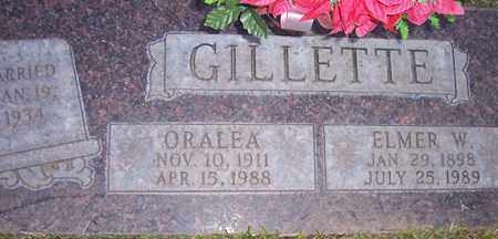 GILLETTE, ORALEA - Maricopa County, Arizona | ORALEA GILLETTE - Arizona Gravestone Photos